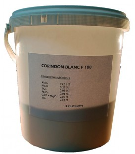 Poudre Corindon Blanche - 5 kg
