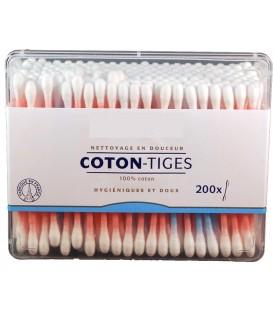 coton Tige 200 Batonnets